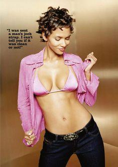 Сексуальная Холли Берри в журнале FHM фото #4