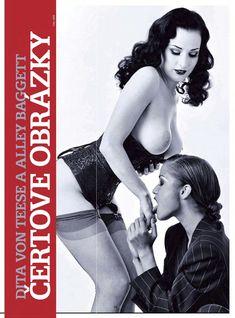 Дита Фон Тиз в лесбийской фотосессии в журнале Playboy фото #2