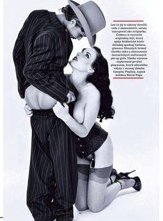 Дита Фон Тиз в лесбийской фотосессии в журнале Playboy фото #4