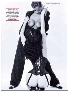 Дита Фон Тиз в лесбийской фотосессии в журнале Playboy фото #6