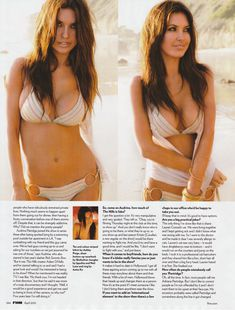 Горячая Одрина Пэтридж  в журнале FHM фото #4