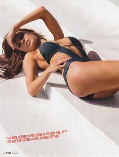 Горячая Одрина Пэтридж  в журнале FHM фото #5