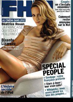 Сексуальная Беатрис Розен с открытым декольте в журнале FHM фото #1