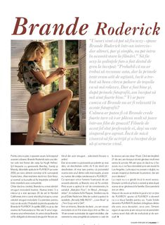 Эротичная Бранд Родерик разделась в журнале Playboy фото #2