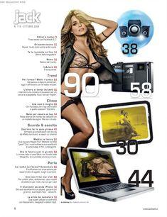 Сексуальная красотка Кармен Электра  в журнале Jack фото #2