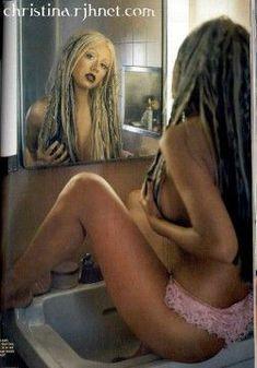 Соблазнительная Кристина Агилера  в журнале Blender фото #2