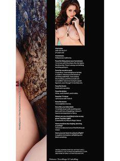 Полностью голая Эмили Эддисон снялась в журнале Penthouse фото #13