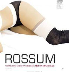 Заводная красотка Эмми Россам позирует  в журнале Jack фото #3