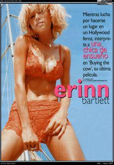 Красотка Эринн Бартлетт засветила голую грудь в журнале Man фото #1