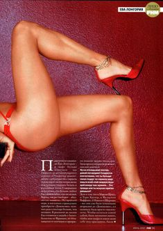 Эротичная Ева Лонгория  в журнале FHM фото #5