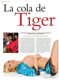 Полностью голая Холли Сэмпсон снялась в журнале Penthouse фото #3