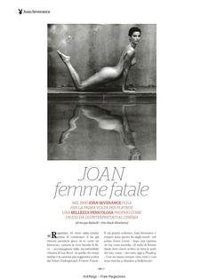 Джоан Северанс разделась  в журнале Playboy фото #1