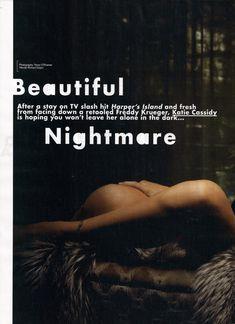 Эротичная Кэти Кэссиди в сексуальном образе для журнала FHM фото #1