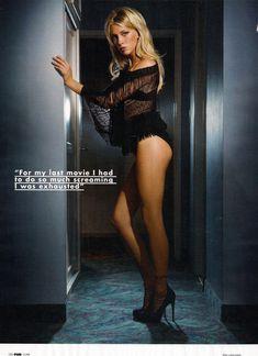 Эротичная Кэти Кэссиди в сексуальном образе для журнала FHM фото #2