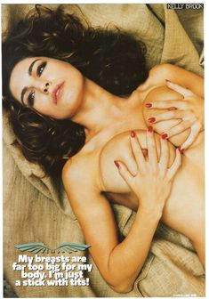Келли Брук позирует голой для журнала Loaded фото #3