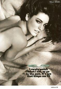 Келли Брук позирует голой для журнала Loaded фото #5