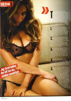 Келли Брук в прозрачном лифчике для журнала M! фото #3