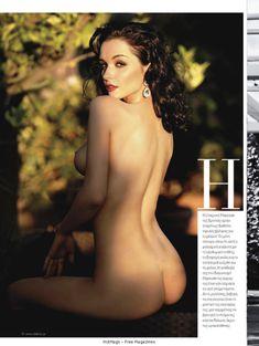 Евгения Диордийчук в обнаженном виде в греческом журнале Playboy фото #2