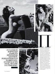 Евгения Диордийчук в обнаженном виде в греческом журнале Playboy фото #4