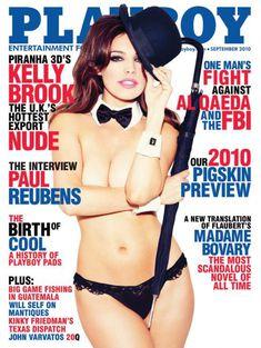 Келли Брук оголилась в американском журнале Playboy фото #1