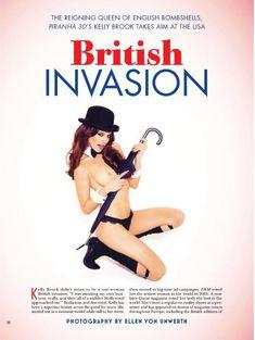 Келли Брук оголилась в американском журнале Playboy фото #2