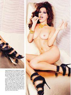Келли Брук оголилась в американском журнале Playboy фото #5