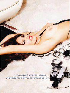 Келли Брук оголилась в американском журнале Playboy фото #8