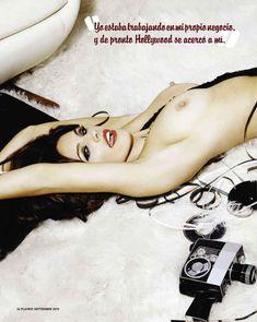 Голые сиськи Келли Брук в журнале Playboy фото #4