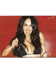 Сногсшибательная Меган Фокс  в журнале CKM фото #3