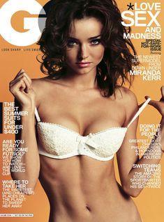 Секси Миранда Керр  в журнале GQ фото #1