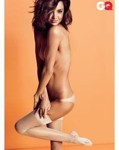Секси Миранда Керр  в журнале GQ фото #9