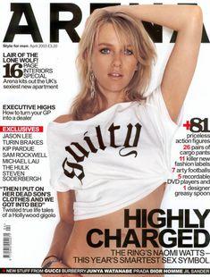 Секси Наоми Уоттс  в журнале Arena фото #1