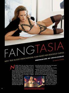 Абсолютно обнажённая Наташа Алам в журнале Playboy фото #2
