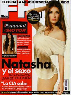 Сексуальная Наташа Яровенко на фото в журнале FHM фото #1