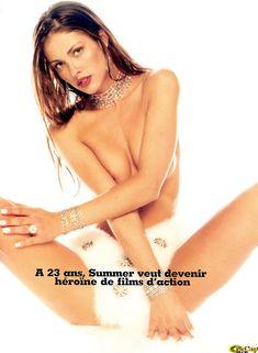 Саммер Элтис с голой грудью позирует для журнала GQ фото #5