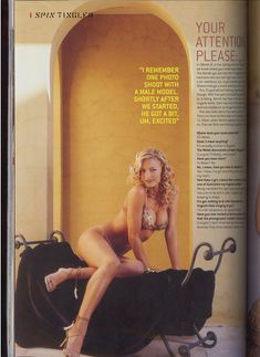 Сексуальная Табретт Бетелл снялась в журнале Ralph фото #3