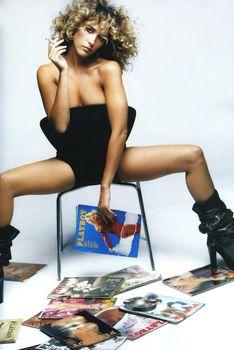 Ваина Джоканте разделась в журнале Playboy фото #3