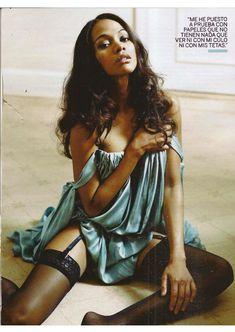 Секси Зои Салдана  в журнале Fotogramas фото #1