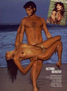 Обнажённая Барбара Каррера появилась на фото в журнале Playboy фото #1