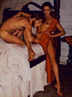 Обнажённая Барбара Каррера появилась на фото в журнале Playboy фото #3
