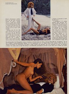 Обнажённая Барбара Каррера появилась на фото в журнале Playboy фото #4
