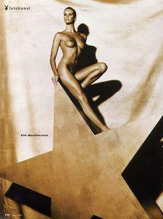 Обнажённая Бриджит Нильсен позирует в журнале Playboy фото #3