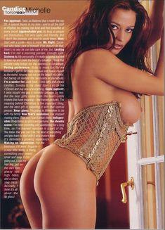 Голые прелести Кэндис Мишель в журнале Playboy's Lingerie фото #1