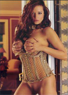 Голые прелести Кэндис Мишель в журнале Playboy's Lingerie фото #3