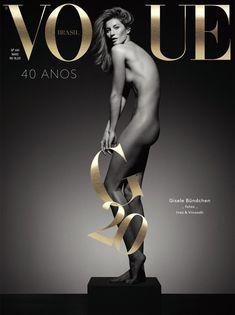 Стройное тело Жизель Бюндхен в журнале Vogue фото #1