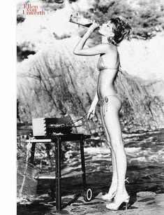 Секси Жизель Бюндхен в журнале Photo фото #7