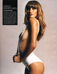 Эротичная Жизель Бюндхен в журнале DT фото #2