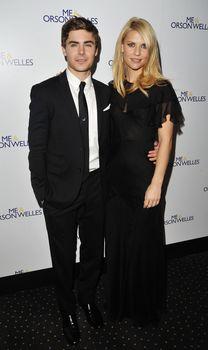 Клэр Дэйнс без бюстгальтера на премьере фильма «Я и Орсон Уэллс» фото #32