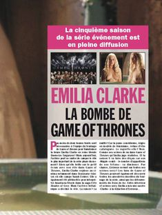 Фото с голой Эмилия Кларк  в журнале Entrevue фото #2