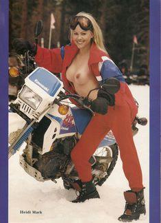 Голая грудь Хайди Марк в журнале Playboy Invierno Caliente фото #2
